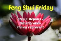 Feng Shui Fridays | Home repairs -  what broken things represent.