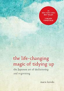 Life Changing Magic of Tidying Up by Marie Kondo book | declutter