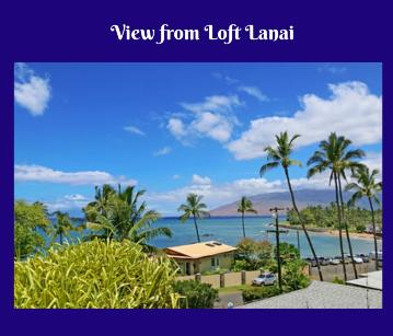 Wailea Inn Kihei | Maui Celestial Retreat 2020 venue | Lanai view