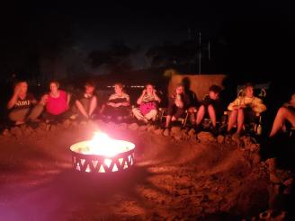 Full Moon Mythology Bonfire | demigod Maui legend | kava ceremony