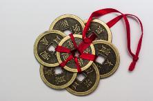 Feng Shui coins attract abundance into your life